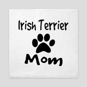 Irish Terrier Mom Queen Duvet