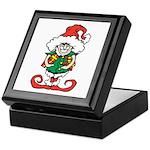 Naughty Elf Keepsake Box