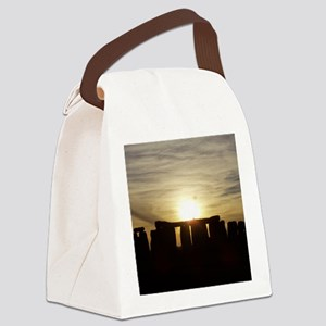 SUNSET AT STONEHENGE Canvas Lunch Bag