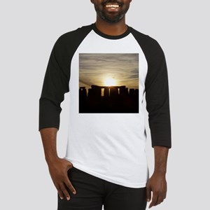 SUNSET AT STONEHENGE Baseball Jersey