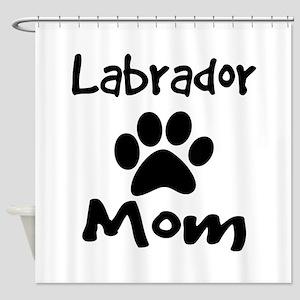Labrador Mom Shower Curtain