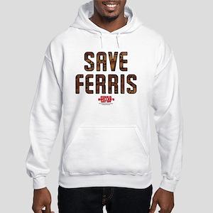 Ferris Bueller - Save Ferris Hooded Sweatshirt