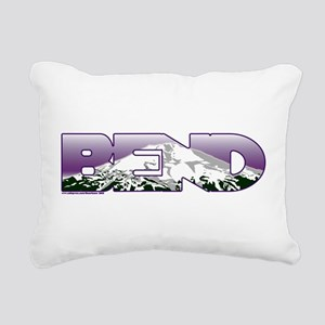 Bend Rectangular Canvas Pillow