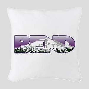Bend Woven Throw Pillow