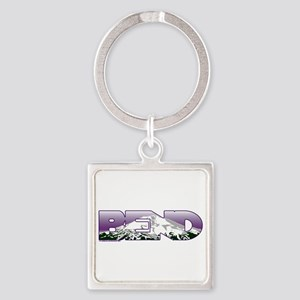 Bend Square Keychain