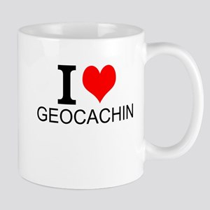 I Love Geocaching Mugs