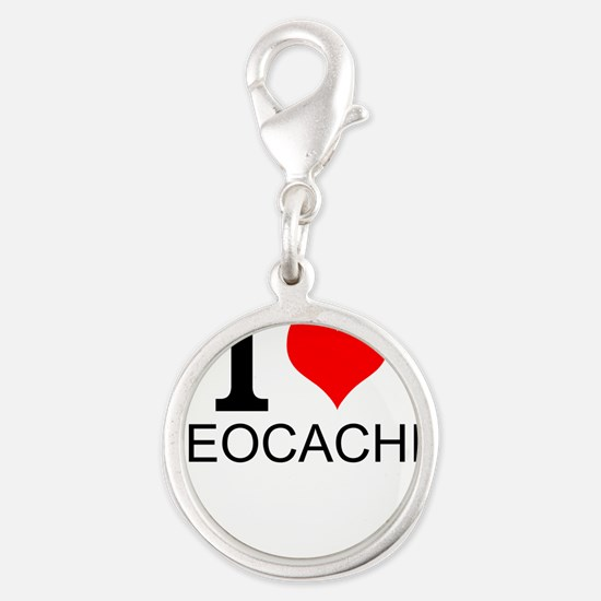 I Love Geocaching Charms