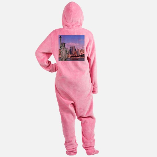 NY LIBERTY 1 Footed Pajamas