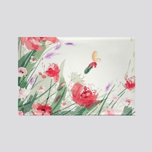 Flowers Painting Magnets