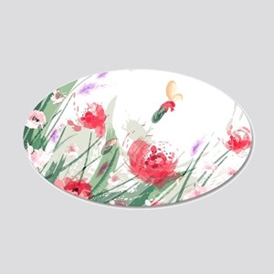 Flowers Painting Wall Decal