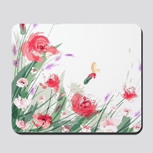 Flowers Painting Mousepad