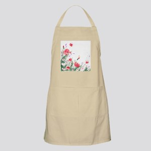Flowers Painting Apron