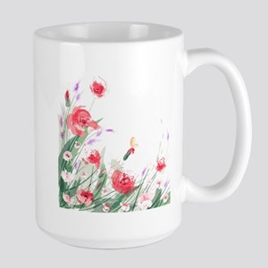 Flowers Painting Mugs