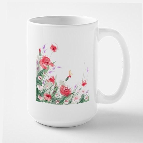 Flowers Painting Mugs