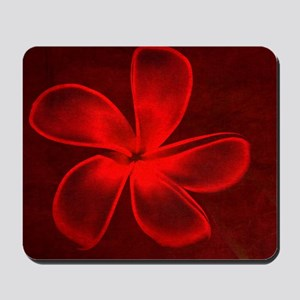 Flower Tropical Red Mousepad