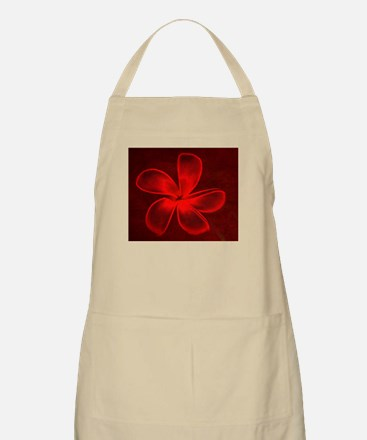 Flower Tropical Red Apron