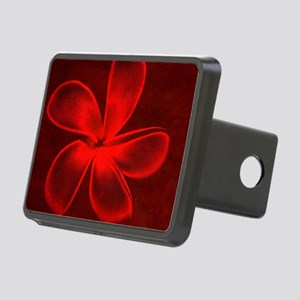 Flower Tropical Red Rectangular Hitch Cover