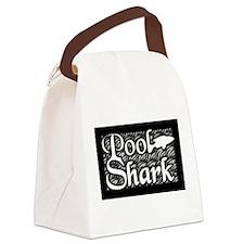Pool Shark Canvas Lunch Bag