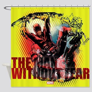 Daredevil Man Without Fear Shower Curtain