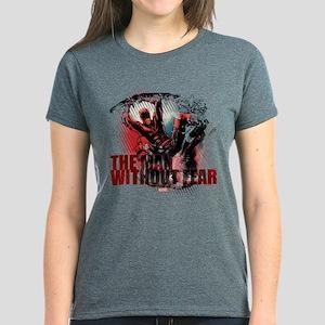 Daredevil Man Without Fear Women's Dark T-Shirt