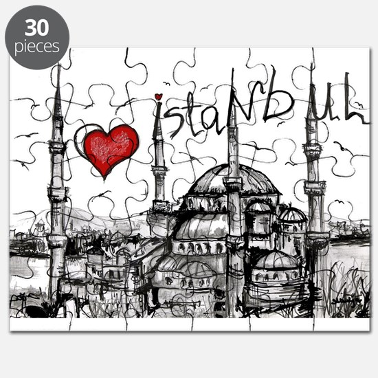 I love Istanbul Puzzle
