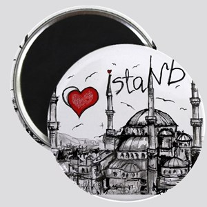 I love Istanbul Magnets