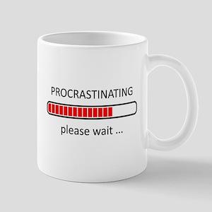 Procrastinating Please Wait Mug