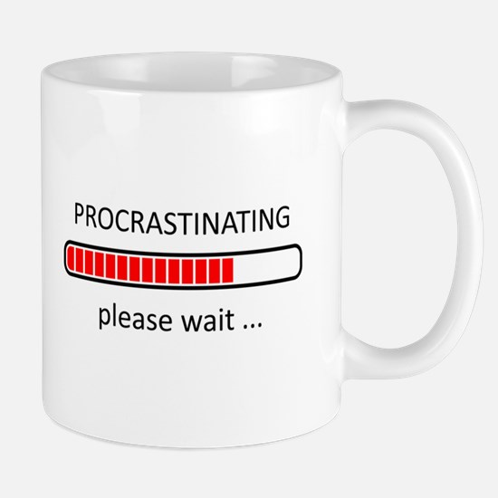 Procrastinating Please Wait Mug