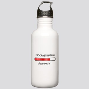 Procrastinating Please Stainless Water Bottle 1.0L