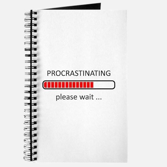 Procrastinating Please Wait Journal
