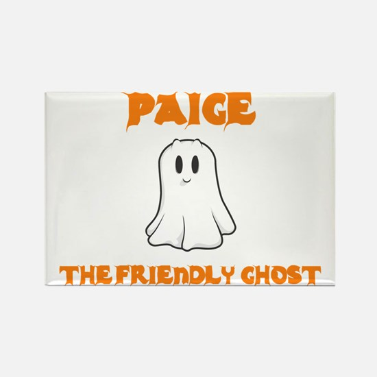 Paige the Friendly Ghost Rectangle Magnet (10 pack