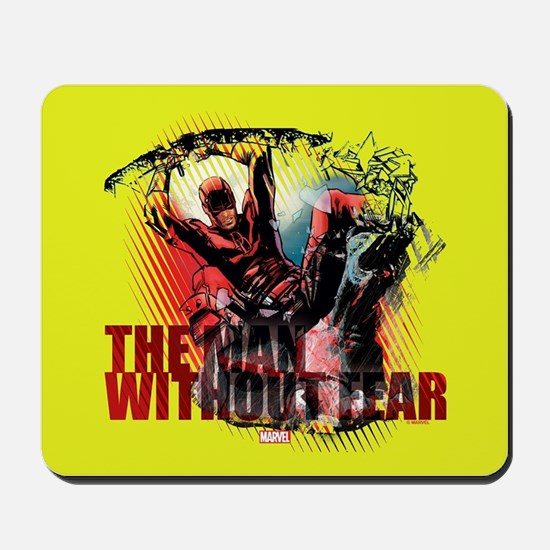 Daredevil Man Without Fear Mousepad