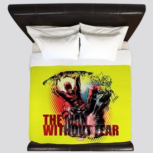 Daredevil Man Without Fear King Duvet