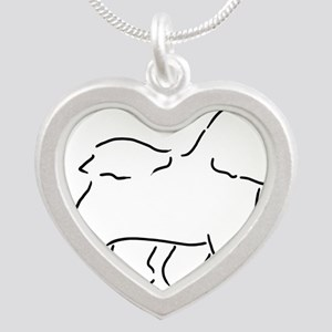 Bichon pen and ink Necklaces