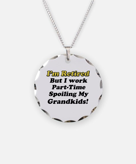 I'm Retired Necklace