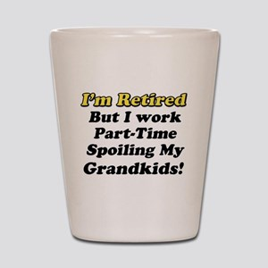 I'm Retired Shot Glass