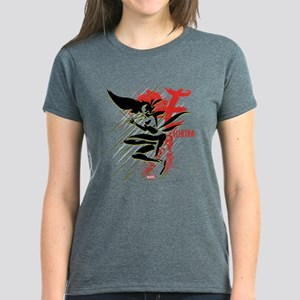 Elektra Abstract Women's Dark T-Shirt