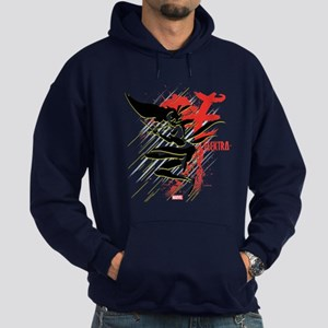 Elektra Abstract Hoodie (dark)