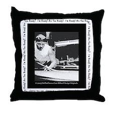 Power Break Billiards Throw Pillow