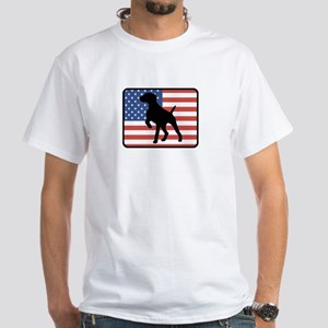 American German Shorthaired P White T-Shirt