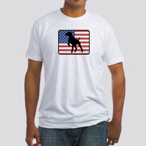 American German Shorthaired P Fitted T-Shirt