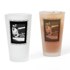 Power Break Billiards Drinking Glass