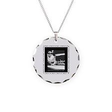 Power Break Billiards Necklace Circle Charm