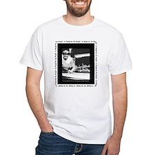 Power Break Billiards White T-Shirt