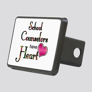 Teachers Have Heart counse Rectangular Hitch Cover
