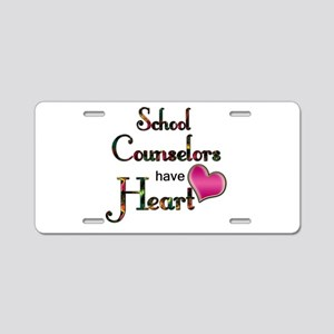 Teachers Have Heart counsel Aluminum License Plate