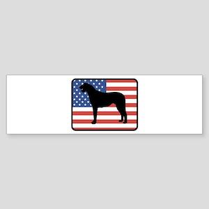 American Irish Wolfhound Bumper Sticker