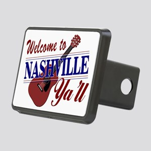 Welcome to Nashville Ya'll Rectangular Hitch Cover
