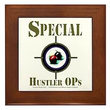 Special Hustler Ops Billiards Framed Tile