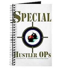 Special Hustler Ops Billiards Journal